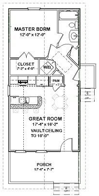 Custom Tiny House Home Cottage Building Plans 1 bed 648 sf ---PDF file Picture 2 of 4 Guest House Plans, Small House Floor Plans, Bird House Plans, Cottage Floor Plans, Duplex House Plans, Cottage Plan, Tiny Home Plans, Tiny Cabin Plans, Small Cottage House Plans