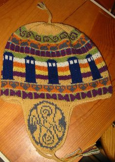 whohat by Paula knits, via Flickr -- this is one of the best things I've ever seen. It has K9, little sonic screwdrivers, the TARDIS, Cybermen heads, bowties, & the Seal of Rassilon.