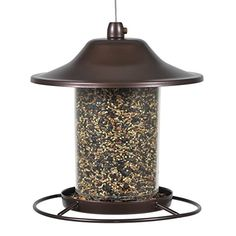 The Perky-Pet Small Panorama Wild Bird Feeder is sure to attract many birds to your backyard. The innovative design of this feeder allows the seed Best Bird Feeders, Wild Bird Feeders, Hanging Bird Feeders, Thing 1, Outdoor Living, Outdoor Decor, Indoor Outdoor, Small Birds, Wild Birds