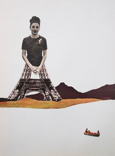 Faith is Torment | Art and Design Blog: Collage by Erwan Soyer