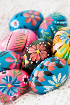 Polish Easter Eggs | The Inspiration Behind Orange Paper Shoppe's Easter Card Collection