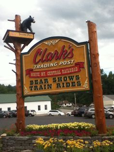 Clark's Trading Post Lincoln, New Hampshire  New England's best roadside attraction, where bears eat ice cream and a train full of tourists is attacked by a hairy mutant.