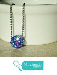 Sparkling Blue Rhinestone Berry Bead Chain Necklace from DonkeyandtheUnicorn http://www.amazon.com/dp/B0182WIGOO/ref=hnd_sw_r_pi_awdo_U2yPwb0VFCCE7 #handmadeatamazon