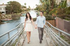 Wedding Photography with a Modern Twist Engagement Couple, Engagement Session, Couple Photography, Wedding Photography, Venice Canals, Becca, Engagements, White Dress, Couples