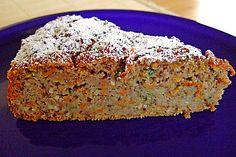 Möhren - Zucchini - Apfel - Kuchen (Rezept mit Bild) | Chefkoch.de