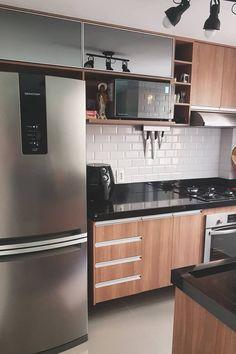 Kitchen Cupboard Designs, Kitchen Pantry Design, Modern Kitchen Cabinets, Home Decor Kitchen, Interior Design Kitchen, Home Room Design, Home Design Decor, Small Apartment Interior, Diy Home Decor Bedroom