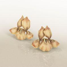 Iris earrings by Ilgiz Fazulzyanov