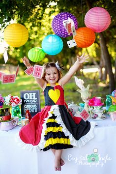 Sophie in Wonderland | Mad Hatter Tea Party Mini Session » Crystal Ingle Photography