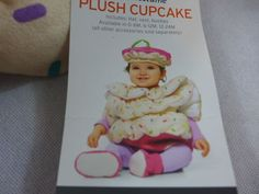 Infant Halloween Costume Cupcake With Hat & Booties Plush Sprinkles  Pink New 3p #Target #CompleteOutfit