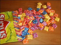 Maybe Sugus candies were what I used to get with grandma Baer vs Now & Then candies!?  Hmmmm?