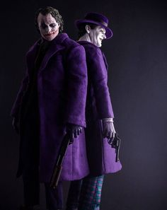 The Jokers. Who would shit their pants if they seen these two walking down the street together or run up and try and join them or ask for an autograph?  I would try and join them and get an autograph!!