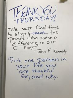 Thank the people in your lives: Thankful Thursday School Classroom, Classroom Activities, Classroom Meeting, Future Classroom, Morning Board, Morning Activities, Daily Writing Prompts, Bell Work, Responsive Classroom