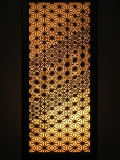 Repetitive design using the Flower of Life.