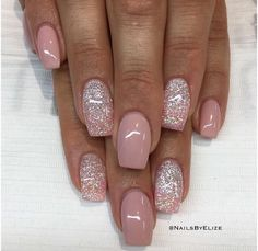 Perfect Cute nails The post Cute nails… appeared first on Nails . Perfect Cute nails The post Cute nails… appeared first on Nails . Perfect Cute nails The post Cute nails… appeared first on Nails . Sparkle Nails, Fancy Nails, Glitter Nails, Cute Nails, Pretty Nails, My Nails, Sns Nails Colors, Vacation Nails, Nagellack Trends