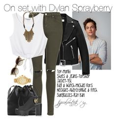 """Dylan Sprayberry"" by yooitshrisiii ❤ liked on Polyvore"
