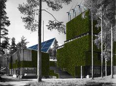 Modern Masterpieces #11, Alvar Aalto, Säynätsalo Town Hall, Jyväskylä, Finland, 1949-52 © Luís Santiago Baptista