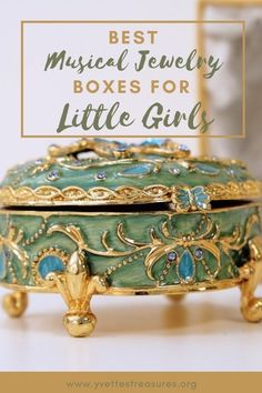 Best Musical Jewelry Boxes for little girls. Beautiful ballerina musical jewelry boxes perfect for a girl's bedroom. Cute and pretty designs, come and see for yourself today! #jewelryboxideas #giftsforgirls #kidsgiftideas Unique Gifts For Kids, Unique Christmas Gifts, Christmas Gift Guide, Gifts For Teens, Ballerina Jewelry Box, Girls Jewelry Box, Musical Jewelry Box, Kids Learning Toys, Ballerina Ornaments