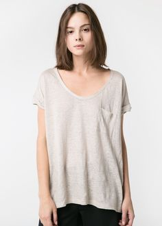 Koszulka z lnu