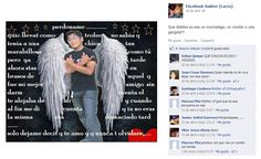 """""""¿Qué diablos es eso un murcielago, un condor o una gargola?"""" dice la descripción de esta foto en la página 'Fäcebook Amixer (Lacra)'"""