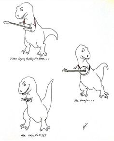 how to draw a t rex head step by step
