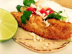 "Deep Fried Avocado Tacos! """"  @allthecooks #recipe #mexican #dinner #avocado #tacos #fried"