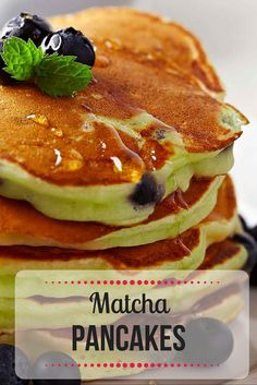 Breakfast is the most important meal of the day, so make it count with our light and fluffy matcha pancakes. http://epicmatcha.com/matcha-pancakes-recipe/?utm_source=pinterest&utm_medium=pin&utm_campaign=social-organic&utm_term=pinterest-followers&utm_content=blog-learn-how-to-make-matcha-power-pancakes-round-2