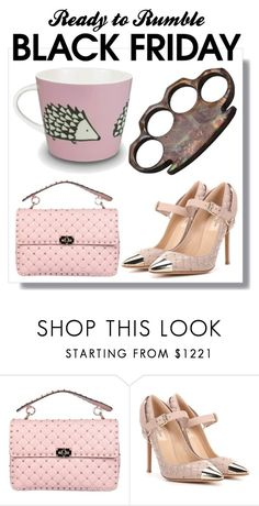"""""""Black Friday, Don't forget the coffee..."""" by creation-gallery ❤ liked on Polyvore featuring Valentino and blackfriday"""