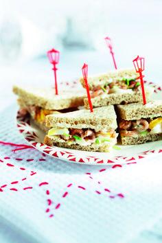 Jan Linders - Sandwich met Hollandse garnalen - Met vloerbrood!