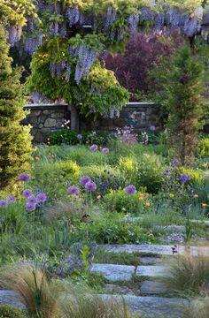 Chanticleer Garden, gravel garden