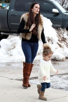 My fave Real Housewife... and her daughter is always dressed adorable too.