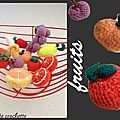 Fruits(dinette crochet)