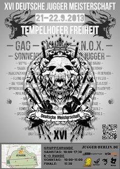 Plakat 16. Deutsche Meisterschaft 2013