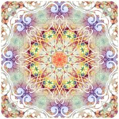 Tender Kiss - Mandala by Lily A. Seidel