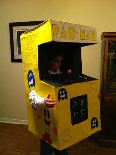 PacMan arcade costume