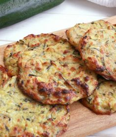 Our baked zucchini cakes are always a hit at summer barbecues! The key to success is to remove all excess water from the veggie before forming the batter. - Everyday Dishes & DIY