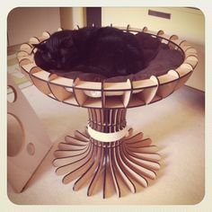 A Goblet bed from KittiCraft!