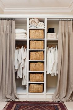 50 Tips for Small Rooms Bedroom Westwing Home & Living - Schlafzimmer ♡ Wohnklamotte - Small Room Bedroom, Closet Bedroom, Closet Space, Small Rooms, Small Apartments, Home Bedroom, Small Spaces, Master Bedroom, Trendy Bedroom