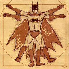 El hombre de Vitruvio | Batman