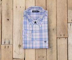Dobbs Check Dress Shirt- Wrinkle Free