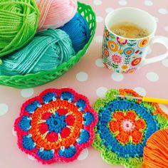 Crochet- and coffeetime!☺️☕️