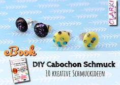 Das neue eBook von CLARKI: DIY Cabochon Schmuck - 10 kreative Schmuckideen