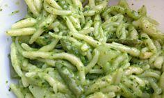 TROFIE: handmade fresh pasta with Pesto sauce