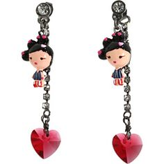 Harajuku Lovers earrings...fatal attraction to cuteness.