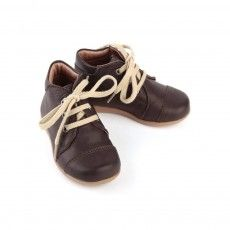 Baby laced shoes - Brown