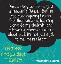 Teacher quote via www.Venspired.com and www.Facebook.com/Venspired