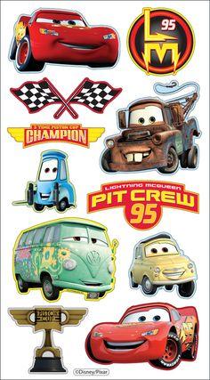 disney karen foster stickers | disney puffy stickers cars item 490257 ek success disney puffy ...