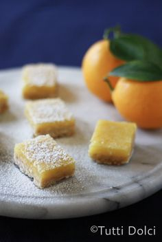 Meyer Lemon Brown Butter Bars...Best lemon bars I've ever had. Might double the filling next time as it is SO good