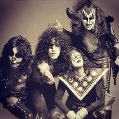 Bildresultat för old kiss band photos