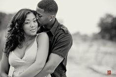 African-American Engagament photo session