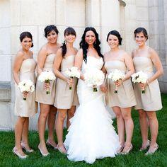like the bridesmaid dress color